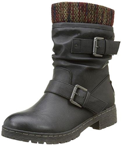 CoolwayBABEL - Stivali a metà gamba con imbottitura pesante  Donna , Nero (Nero (Blk)), 37