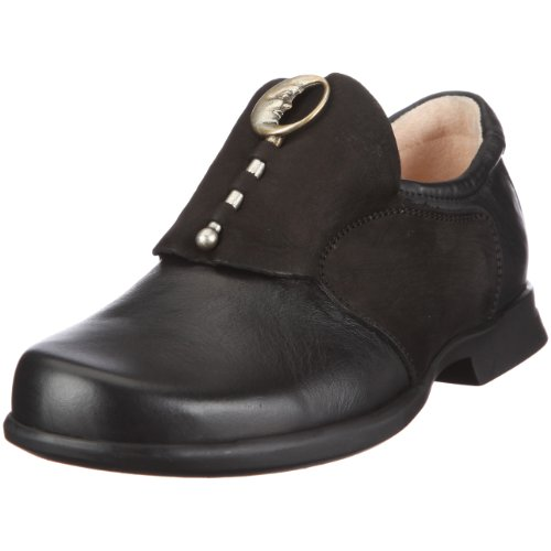 Think Pensa 6-86002-00 Damen Slipper Schwarz