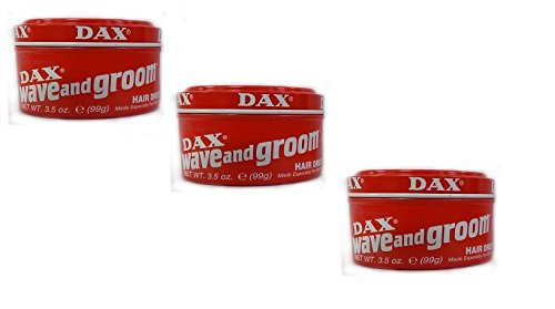 3x DAX Wave and Groom Hairdress 99g (insgesamt - 297g) -