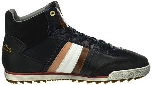 Pantofola d'Oro - Imola Adesione Uomo Mid, Scarpe da ginnastica Uomo Blau (.29Y)