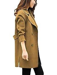 VJGOAL Chaqueta de Moda otoño Invierno Moda Casual Outwear Parka Chaqueta de Punto Abrigo de Lana