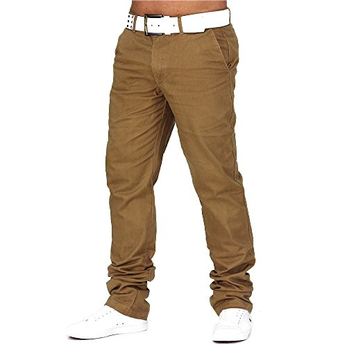 Herren Chino-Hose · Regular Fit Passform · Chino Jeans Pants· 100% Baumwolle · Straight Leg · 11 Farben zur Wahl · Chino Trousers · Stoff-Hose · H688 in Markenqualität