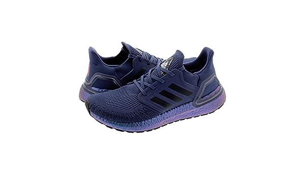 adidas Ultraboost 20 Hommes Chaussures Running Bleu EU 44