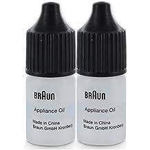 2x Braun Appliance Petróleo por cizalla unidades / cuchillas