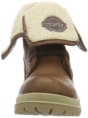 Mustang Unisex-Kinder 5037-606 Kurzschaft Stiefel Braun (301 kastanie)