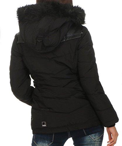 Khujo Damen Winterjacke Winsen II (BB+BF) 1082JK173 BB1 black pes