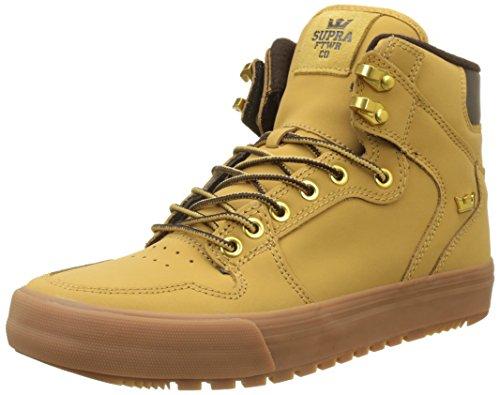 Supra Herren Vaider CW Sneaker, Gold (Amber Gold-Light Gum), 47.5 EU (Jim Greco Supra)