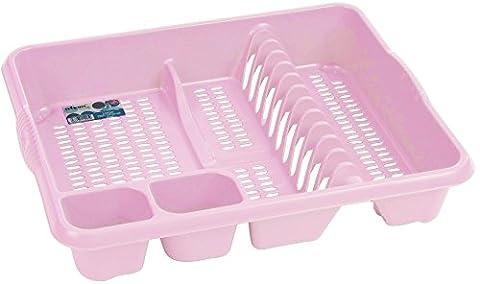 Dish Draining Rack - Baby Light Pink