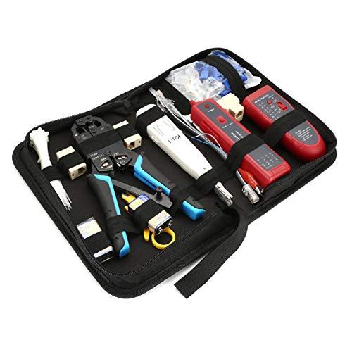 WOSOSYEYO Netzwerk Toolkit Set A135 Linie Finder Net Zangen Set Netzwerk Set Kit Package