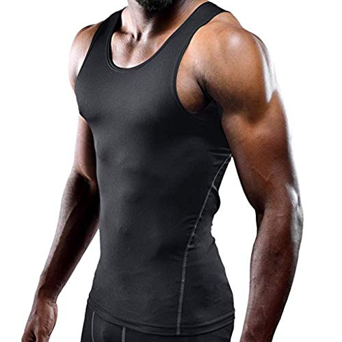 HULKY Herren Tank Top Sommer Mode 3D Print Muskel Ärmelloses Hemd Camo A-Shirt Hip Hop Bodybuilding Sport Fitness Workout Weste(grüne Armee 4,L) - Armee Camo Fitted Hut