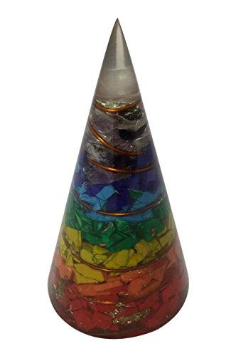 wholesalegemshop 7-chakra Energetische konisch Kegel Pyramide Form Antenne