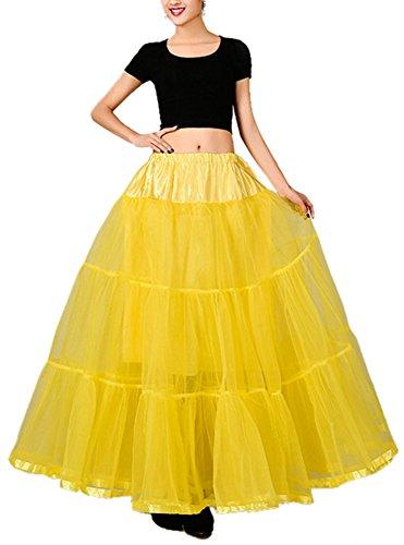 Frauen Petticoat Röcke Tutu Reifrock Unterrock Gr. Medium, ()