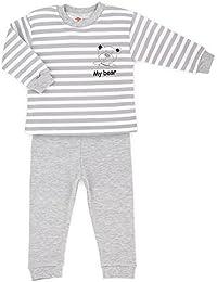 Baby-Mode Schlafanzug Pyjama Set Hose + Langarmshirt -Kollektion My Bear- (80 – 104)