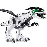 Webla Dinosaure Électrique Spray Dinosaure Multi-Fonction Électronique Enfants 'S Jouets Spray Électrique Dinosaure Dragon Robot Électrique Animal De Compagnie avec Musique Lumière Jouet Jouet Cadeau