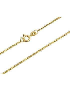 Erbskette, Goldkette - 1,5mm Durchmesser - 333 Gold, Länge wählbar von 38-90cm