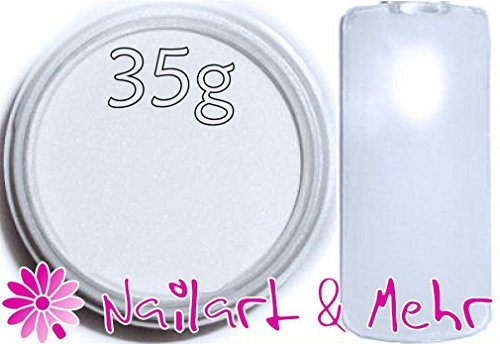 Nail Art & plus professional-Powder/acrylique en poudre acrylique, 35 g, ° Extra White °