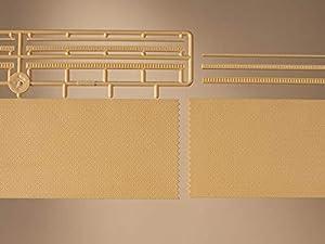 Auhagen 41207Paredes de ladrillo con Kit de decoración Amarillo Modelos Opcional