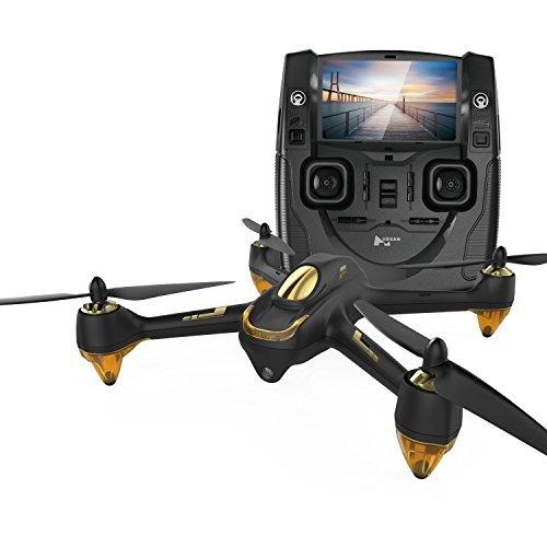 Hubsan H501S X4 Brushless Quadcopter Drone RC FPV Transmisor GPS 1080p HD Cámara Cuadricóptero (Negro)