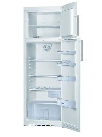 Bosch KDV33X15 Réfrigérateur 2 portes pose libre 301L Classe: A++ Blanc