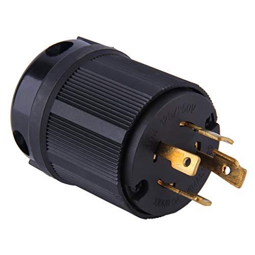 Industrieller Hochleistungsgrad UL listete Generator-heiße Energie auf, die NEMA L14-30P Verdrehungs-Verschluss-Stecker 30A 125-250V 3P 4W US im Freien sperrt (30 Plug Nema L 14)