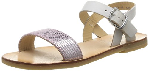 Start Rite  Flora II,  Sandali Ragazza, Multicolor (Pink Sparkle), 32