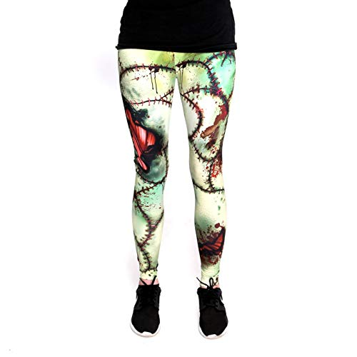 nte Halloween Leggins (Einheitsgröße) - Leggings Design Zombie ()