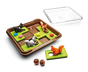 Smart Games Squirrels Go Nuts Child Niño/niña - Juegos educativos, Child, Niño/niña, 6 año(s), 60 Pieza(s), 170 mm