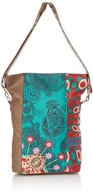 Desigual Womens Bols Ibiza-Annelise 3014 U Messenger Bag 41X53413014U Rot/Scarlet One Size
