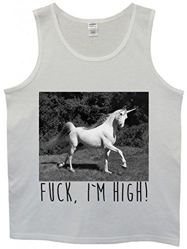unicorn-fck-i-am-high-hipster-swag-white-weiss-herren-men-unterhemd-tank-top-vest-large