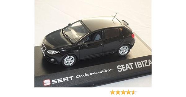 Alles Meine De Gmbh Seat Ibiza Sc Ab 2008 Magic Schwarz 5 TÜrer 6j 1 43 Modell Auto Modellauto Spielzeug