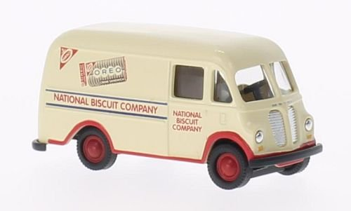 International Harvester Company (International Harvester Metro Van, Nabisco - National Biscuit Company, Kastenwagen , Modellauto, Fertigmodell, Classic Metal Works 1:87)