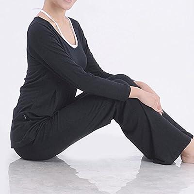 Bluelover Plus Größe Frauen Yoga Anzüge Sport Fitness Yoga Kleidung Set Modal gebündelt Nähte Sportswear