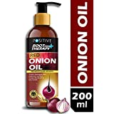 positive Root Therapy and Red Onion Hair Growth and Anti Dandruff Hair Oil , 200 ml