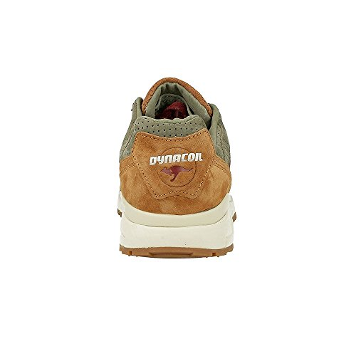 KangaROOS - Ultimate Leather, Scarpe da ginnastica Unisex – Adulto Multicolore (Mehrfarbig (Cognac/Wine 367))
