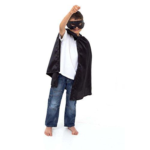 Superhelden-Kostm-Kinder-3-8-Jahre-alt-Umhang-Maske-Zorro-Kostm-Bandit-Kostm-Slimy-Toad