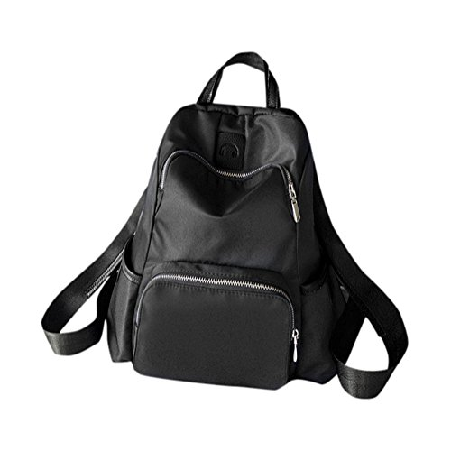 Remeehi , Damen Rucksackhandtasche, schwarz (schwarz) - JXQ01938-1 schwarz
