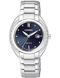 orologio solo tempo donna Citizen Eco-Drive trendy cod. EW2250-59L