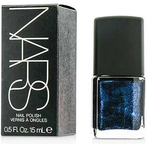 Nail Polish - #Night Flight (Black with cobalt blue pearls) 15ml/0.5oz