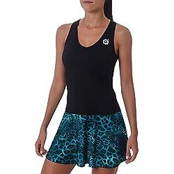 a40grados Sport & Style Vilo - Vestido para mujer, color negro, talla M