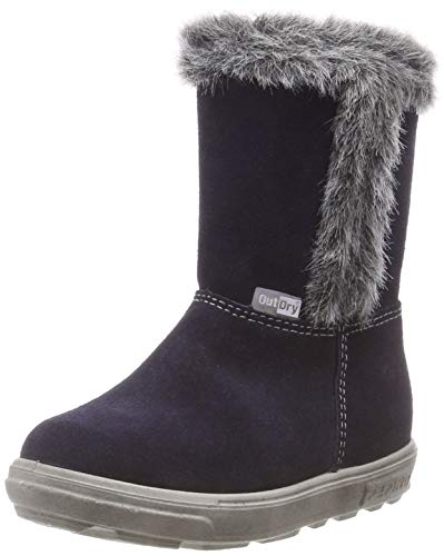 RICOSTA Mädchen USKY Hohe Sneaker, Blau (Nautic 171), 27 EU -