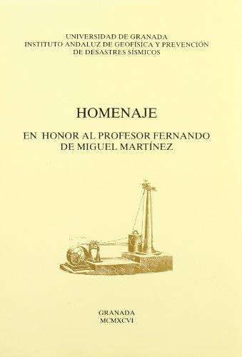 Homenaje en honor al profesor Fernando de Miguel Martínez (Homenajes) por Varios