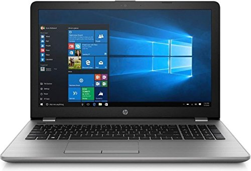 HP Notebook (15,6 Zoll) FHD, Intel Quad Core 4 x 2,50 GHz, 8 GB DDR4 RAM, 256 GB SSD Festplatte, HD Webcam, HD Grafik, DVD Laufwerk, Windows 10 Pro