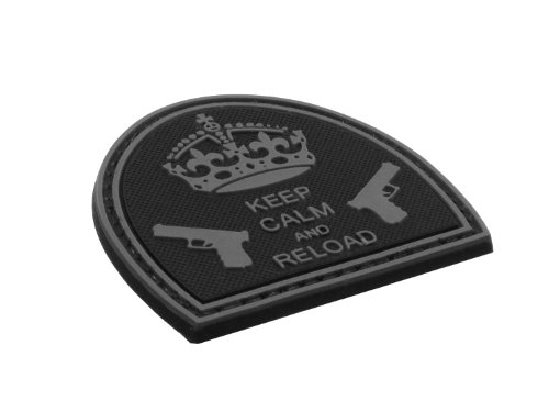 be-x-3d-rubber-patch-abzeichen-keep-calm-and-reload-hartgummi-mit-klett-5x5cm-schwarz