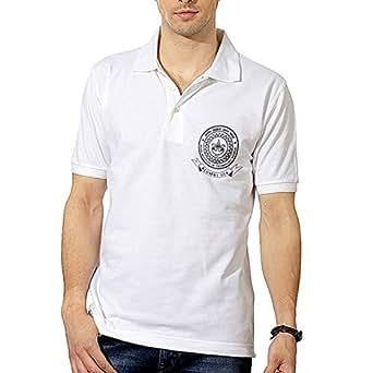 Bluegape IIT Kanpur Alumni Polo Tshirt, White Polo T-shirt, White