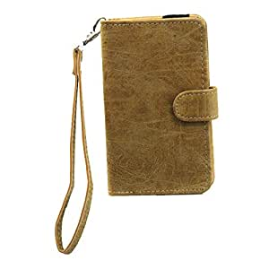 Jo Jo A9 Classic Leather Carry Case Cover Pouch Wallet Case For Oppo Neo Light Brown