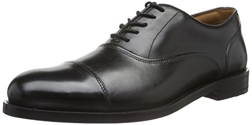 Clarks Coling Boss, Brogues Homme, Noir (Black Leather), 42 EU