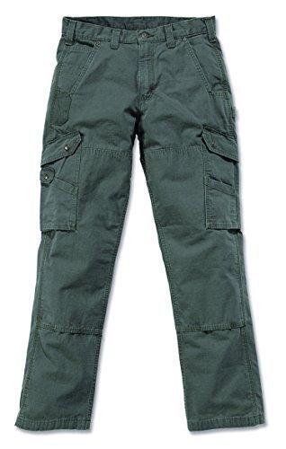 Carhartt RipStop Cargo Work Pants - Arbeitshose Moss 38/32