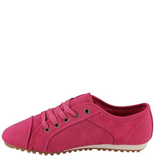 Unbekannt, Sneaker donna Rosa (rosa)