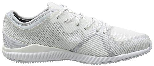 adidas Crazytrain Bounce W, Chaussures de Tennis Femme Blanc Cassé (Ftwbla/plamet/gritra)