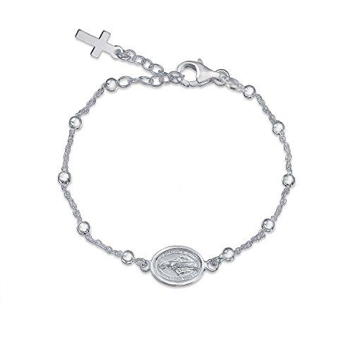 bling-jewelry-plata-esterlina-studrio-madre-maria-medalla-cruz-pulsera-75-en